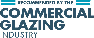 Recommended by the commercial glazing industry
